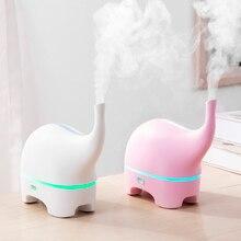 USB аромадиффузор «Слон» 5 в постоянного тока, ультразвуковой диффузор эфирного масла, цветной Светодиодный увлажнитель воздуха, портативный увлажнитель воздуха, генератор тумана