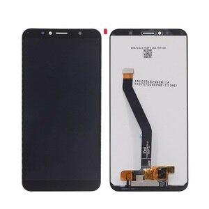 Image 3 - Original pour les pièces de réparation décran tactile daffichage à cristaux liquides de Huawei Honor 7C Aum L41 pour laffichage à cristaux liquides décran dhonneur 7C avec le cadre
