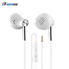 3.5mm Stylish Bass Wired Headphone For Samsung Xiaomi Huawei Sports Durable Headset Game 6D Stereo Bass Earphone Earbuds In-Ear