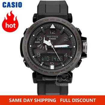 Casio watch Protrek Series LED digital Waterproof Quartz men watch Sport militaryWatch relogio masculino calvinklein minimal series quartz watch k3m2312x