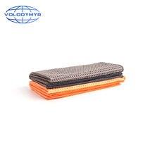 Полотенце из микрофибры облицовка кромки вафельная ткань для