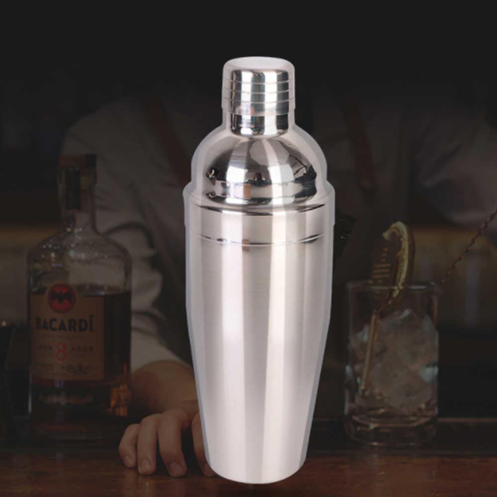12pcs/8pcs Set Cocktail Shaker Bartender Kit con Elegante Basamento di Legno 750ML Professionale In Acciaio Inox per home Bar Partito