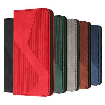 Retro etui z klapką do Xiaomi Redmi Note 9 Pro Max 9S 9T etui portfel magnetyczny skórzany pokrowiec Xiomi Redmi 9A 9C 9 a c t okładka Coque tanie i dobre opinie KL-Boutiques CN (pochodzenie) Etui z portfelem Business Style Full Protective S Pattern Leather Phone Case Zwykły PU Leather Cover + Soft TPU Back Cover