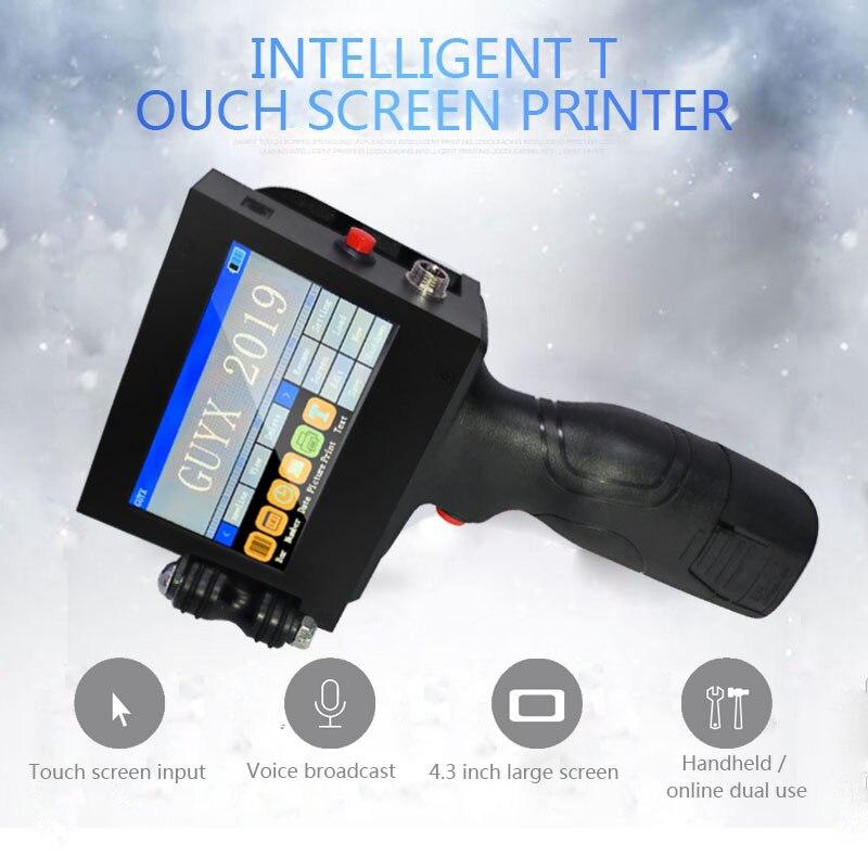 Smart Handheld Inkjet Printer Small Automatic Laser Coder Production Date Price Label Inkjet Coder Coder