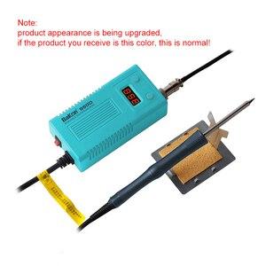 Image 2 - Электрический паяльник BAKON 950D 75 Вт с регулируемой температурой, паяльник T13 с наконечником, Мини Портативная сварочная ремонтная станция, инструменты
