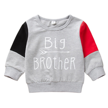 AmzBarley Toddler boy Sweatershirts kids Cotton Autumn winter clothes Long sleeves Letter printing children Casual outfits 1-6 Y