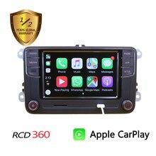 רוסית פורטוגזית ספרדית RCD360 Carplay MIB רדיו עבור גולף 5 6 ג טה MK5 MK6 CC Tiguan פאסאט B6 B7 CC פולו טוראן 6RD035187B