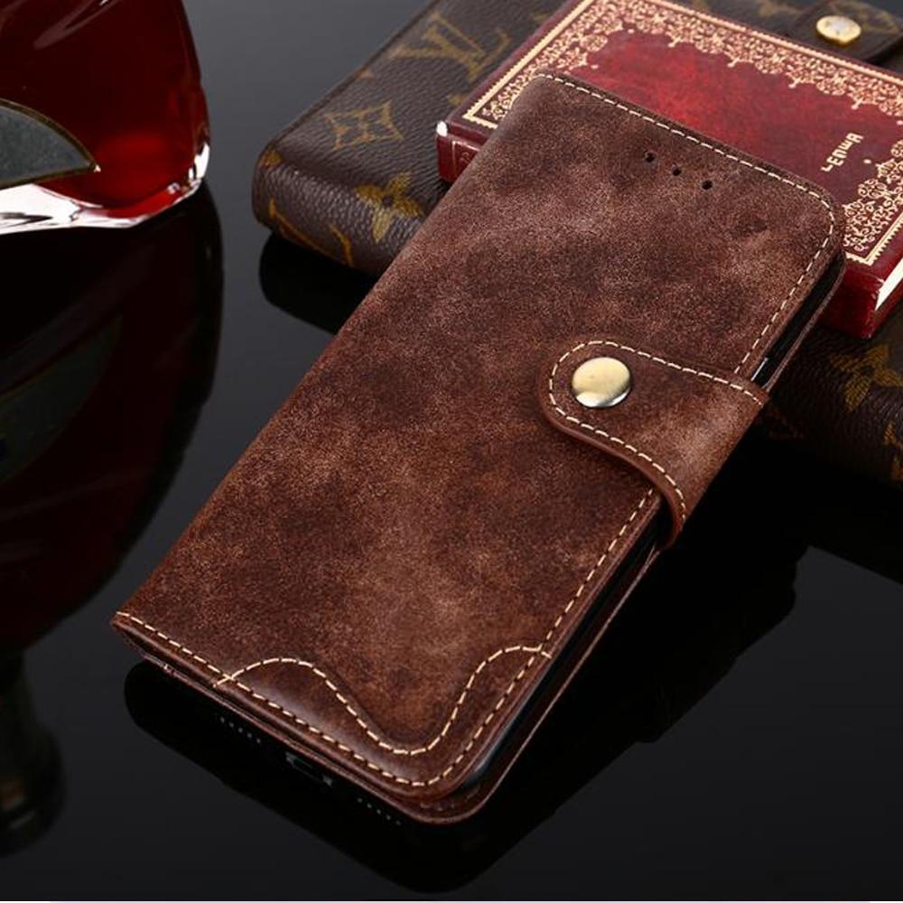 For Meizu Charm Blue M6 M5 M3 M2 Note M6s M6T M5s E2 Vintage Western Cowboy Rivet Buckle Flip Leather Phone Case Stand Cover Bag