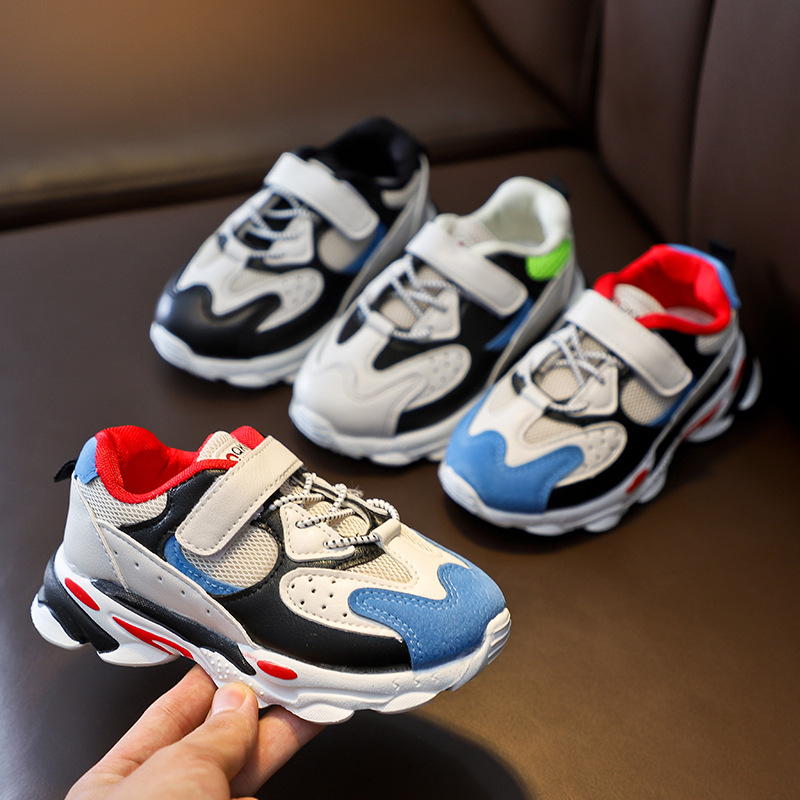 2019 Brand Children Shoes For Girls Boys Sneakers Kids Air Mesh Breathable Sport Shoe Baby Toddler Non-slip Outdoor Sneakers