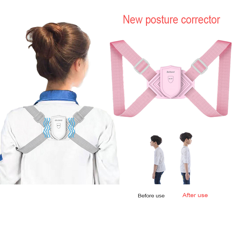 Intelligent Back Posture Corrector for Adults and Kids