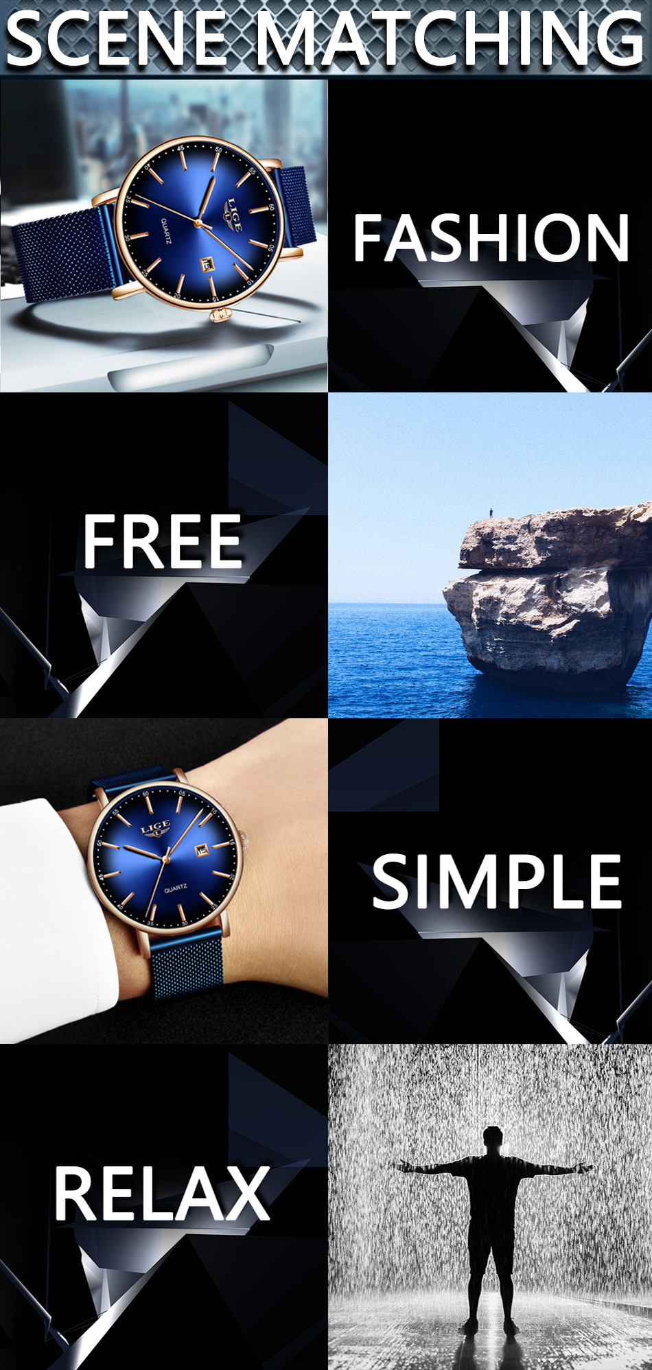 Hc57431d38d754527b286a0750ef3ee09R LIGE Fashion Mens Watches Top Brand Luxury Blue Waterproof Watches Ultra Thin Date Simple Casual Quartz Watch Men Sports Clock