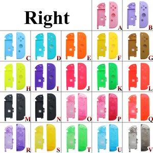 Image 5 - Ngọc Khê Hồng Tím Xanh Dương Vàng Xanh Cho Nintend Switch NS Joy Con Thay Thế Nhà Ở Vỏ Bao Da Cho NX Joycons Bộ Điều Khiển ốp Lưng