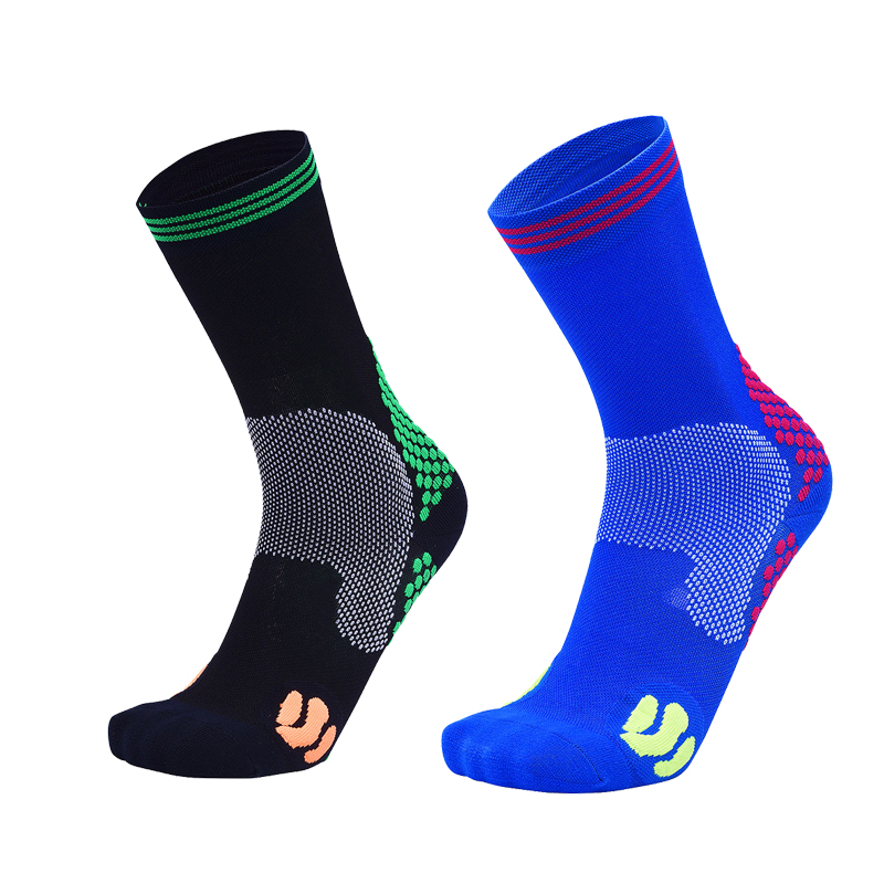 running - Men Women Compression Socks Profession Breathable10-15mmHg Marathon Socks Outdoor Anti Fatigue Sport Cycling Running Sock