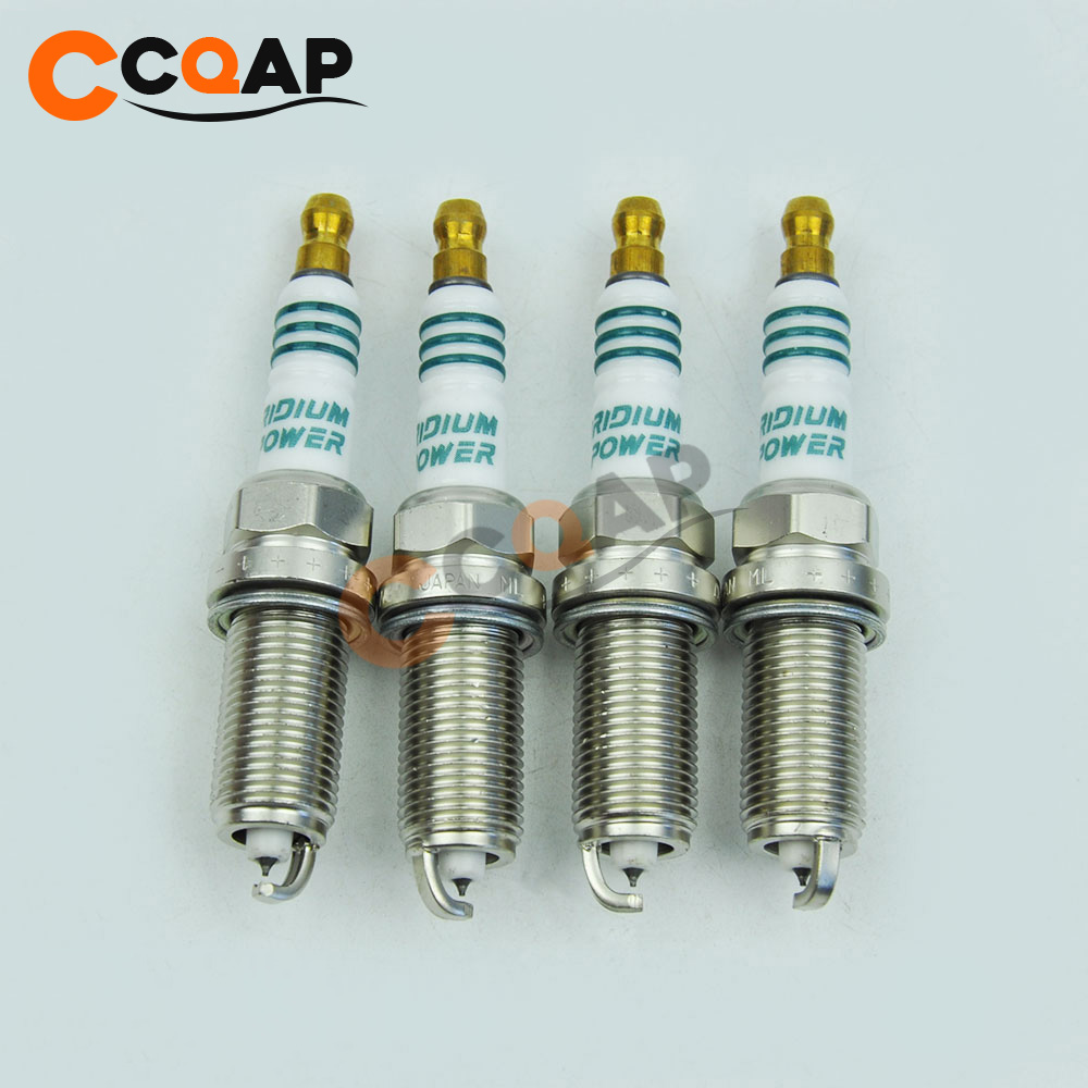 4pcs/lot IKH22 5345 Iridium Power Spark Plug For Subaru Forester SG 2.5T IKH22-5345