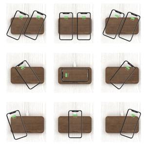 Image 5 - KEYSION cargador inalámbrico Dual, 5 bobinas, almohadilla de carga rápida Qi, Compatible con iPhone 11 Pro, XS, Max, Samsung S20, AirPods, Xiaomi Mi 10