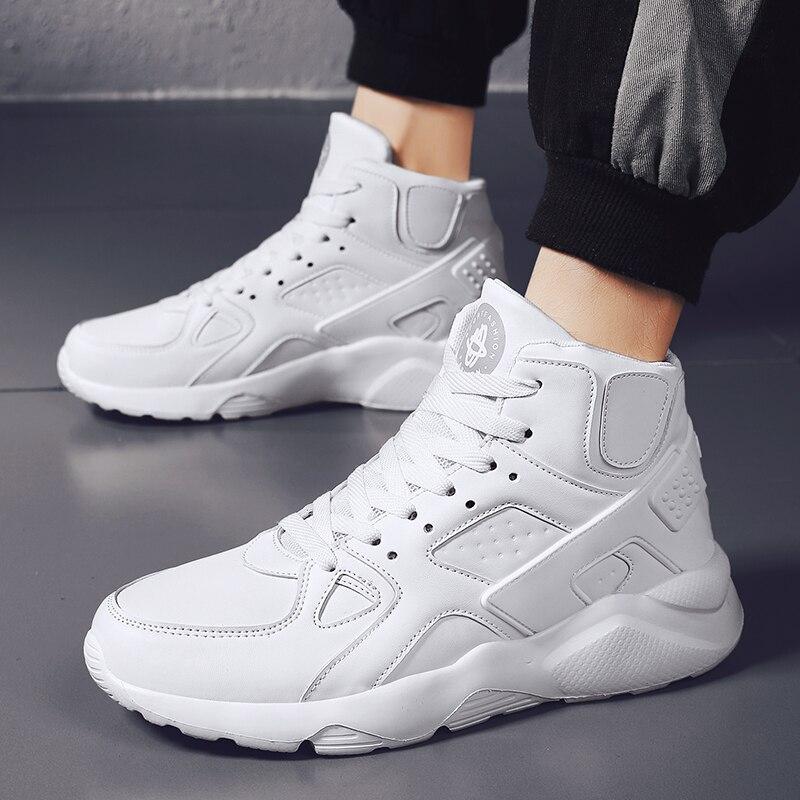 CREDRIZK Big Size High Top Sneakers Men