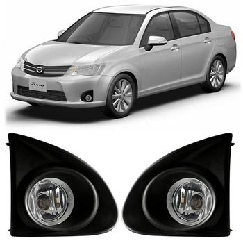 Magic ColorM For Toyota AXIO 2013-2015 Car Front Bumper Driving Light Fog Lamp Assembly With Wires Switch Harness Auto Parts