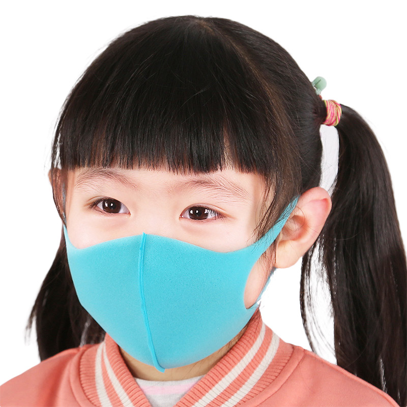 Face Masks For Kids Anti PM2.5 Dustproof Smoke Pollution Mouse Mask With Earloop Washable Respirator Children Face Masks