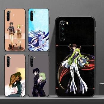 Disobedient Lelouch Phone Cases etui for xiaomi note max mi 3 7 8 9se coque TPU fundas for Redmi 7 7a 8 8t 10 pro lite cover image