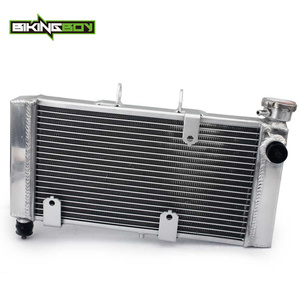 Image 1 - BIKINGBOY Aluminum Engine Water Cooling Cooler Radiator For Honda NC 700 / ABS 2012 2017 NC 750 ABS 2014 2019 19010 MGS J31