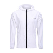 Running-Jacket Quick-Dry Hooded Long-Sleeve Breathable Full-Zipper Thin Gym Men