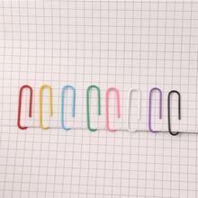 200 шт цветные зажимы для бумаги офисные принадлежности зажим