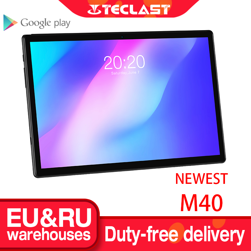 Tableta Teclast M40 de 10,1 pulgadas 1920x1200 de red 4G Unisc T618 Octa Core 6GB RAM 128GB ROM tabletas PC Android 10 Dual Wifi tipo-c