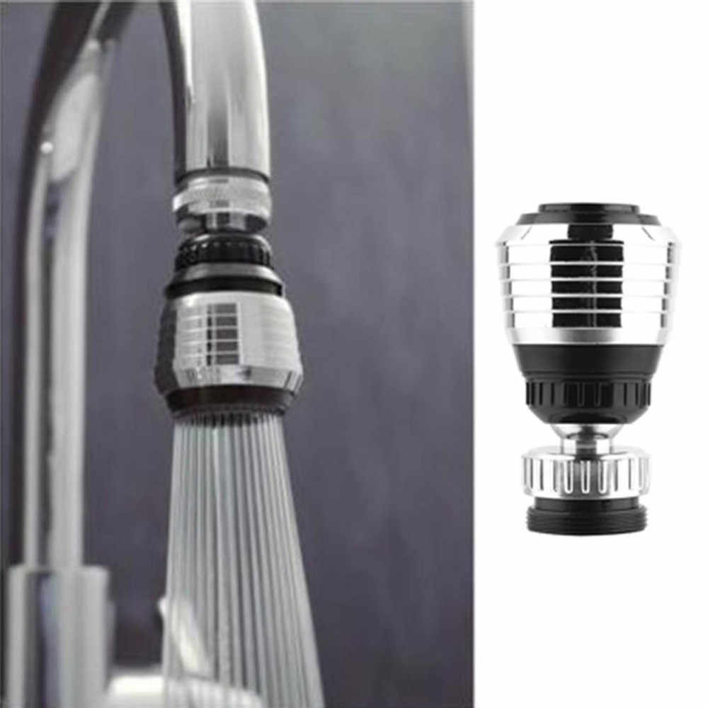 אוניברסלי פלסטיק ברז זרבובית 360 רוטרי מטבח ברז מקלחת ראש Economizer לחסוך מים זרם מגופים משיכה החוצה רחצה