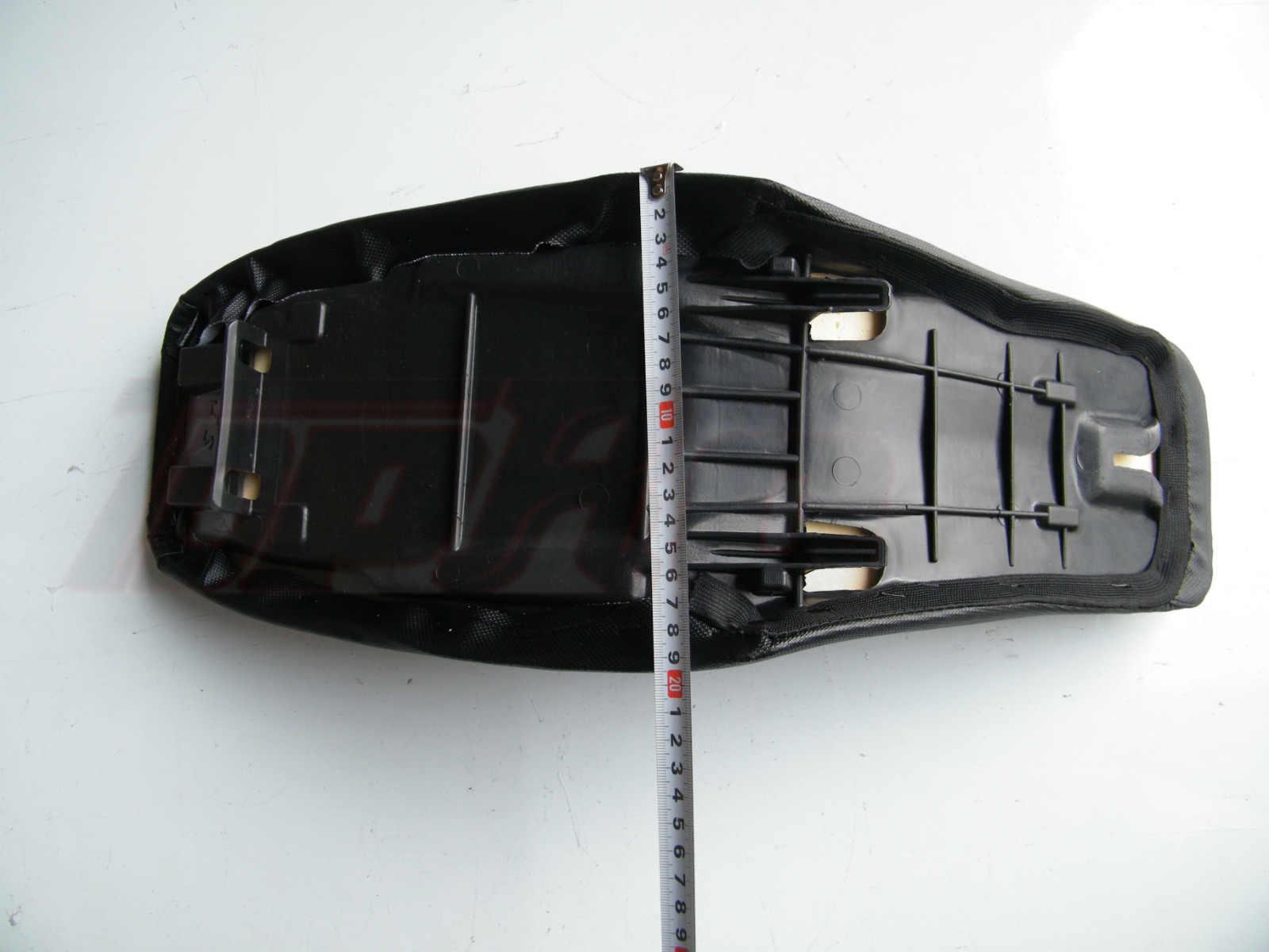 Hitam Motor Tinggi Bantal Kursi Nyaman Anti Selip Cafe RACER untuk Honda CRF70 CRF70F SSR 125cc 140cc 150cc Lubang Kotoran Sepeda
