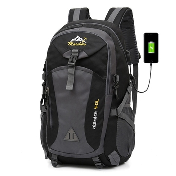 Weysfor 40L Waterproof Men Backpack Travel Pack Sports Bag Pack Outdoor Mountaineering Hiking Climbing Camping backpack For Male 40l 50l 60l outdoor hiking backpack camping travel bag waterproof sports bag climbing rucksack mountaineering hiking backpacks