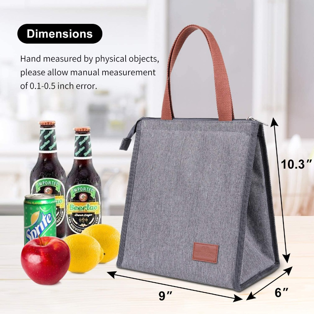 comida térmica piquenique almoço sacos para as crianças femininas
