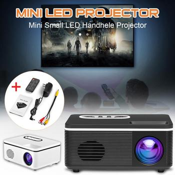 HD Mini Projector LED Android WiFi Projector Video Home Theater 3D HDMI Movie Game S361 Projector  Portable Mini Entertainment orimag p6 portable smart mini dlp led wifi projector