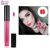 BeautyBigBang Wasserdicht Matte Klare Lip Gloss Liquido Rouge EINE Levre Longue Tenue Flüssigkeit Lippenstift Gloss Langlebige Lip Tint