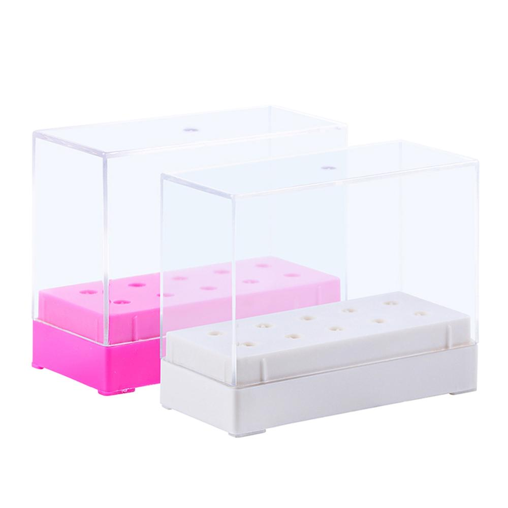 Case Display-Container Acrylic-Holder Storage-Box Jewelry Manicure-Accessory Empty Nail