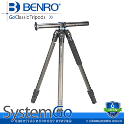 BENRO 1.58KG Portable Professional Camera Tripod 3 Leg Section Tripod For SLR Cameras No Head GoClassic Tripods GC257T