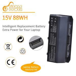 New A42-G750 Laptop Battery 15V 5900mAh for ASUS ROG G750 G750J G750JH G750JM G750JS G750JW G750JX G750JZ CFX70 CFX70J 8 Cells.