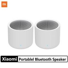 2Pcs Xiaomi Portable Wireless Bluetooth 5.0 Speaker Set Mini Music Audio 2.0 TWS Stereo Sound Speaker With Microphone For Phone