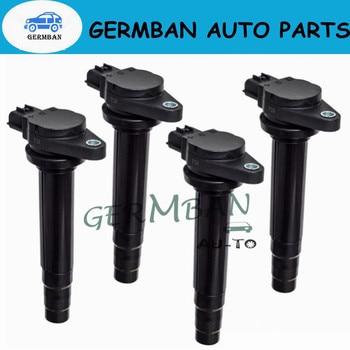 4PCS IGNITION COIL FOR Nissan Sunny ALMERA II PRIMERA 1.5L 1.6L 1.8L 22448-6J901 22448-4M500 22448-4M50A CM11-205B CM11-205