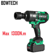 Battery Impact-Wrench Torque Cordless 20V Square-Drive 1300n.m 1/2inch XWT08Z Fit