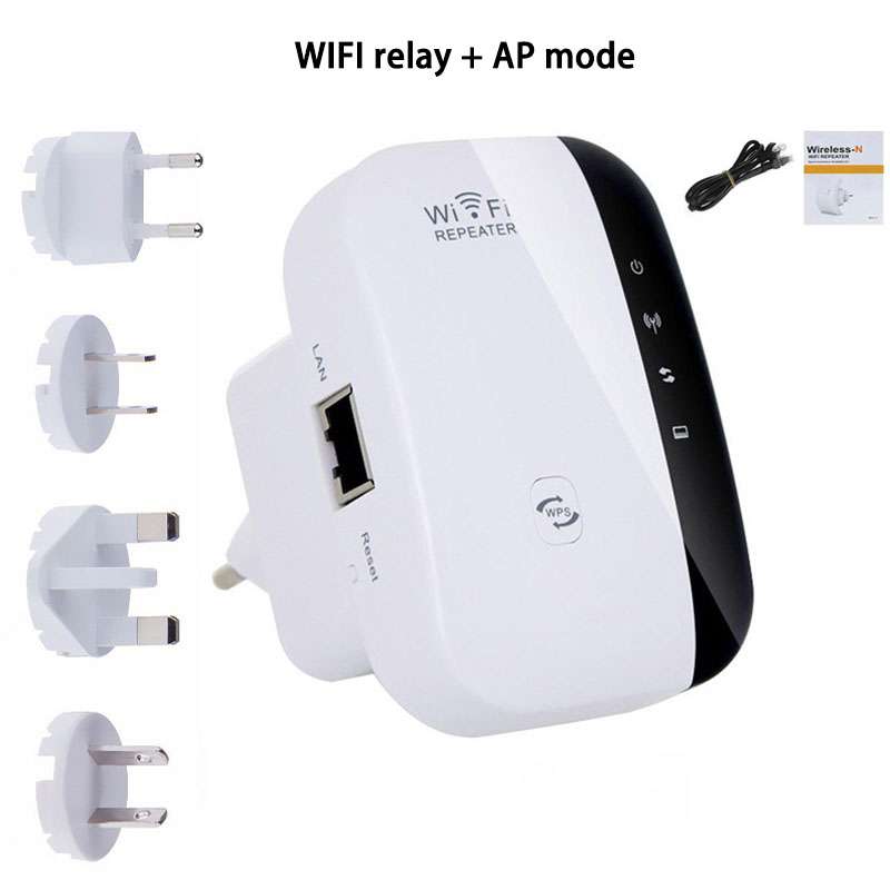 WIFI Repeater Wireless Network Signal Amplifier Enhancer Router Extender 300Mbps 2.4G WIFI Access Point