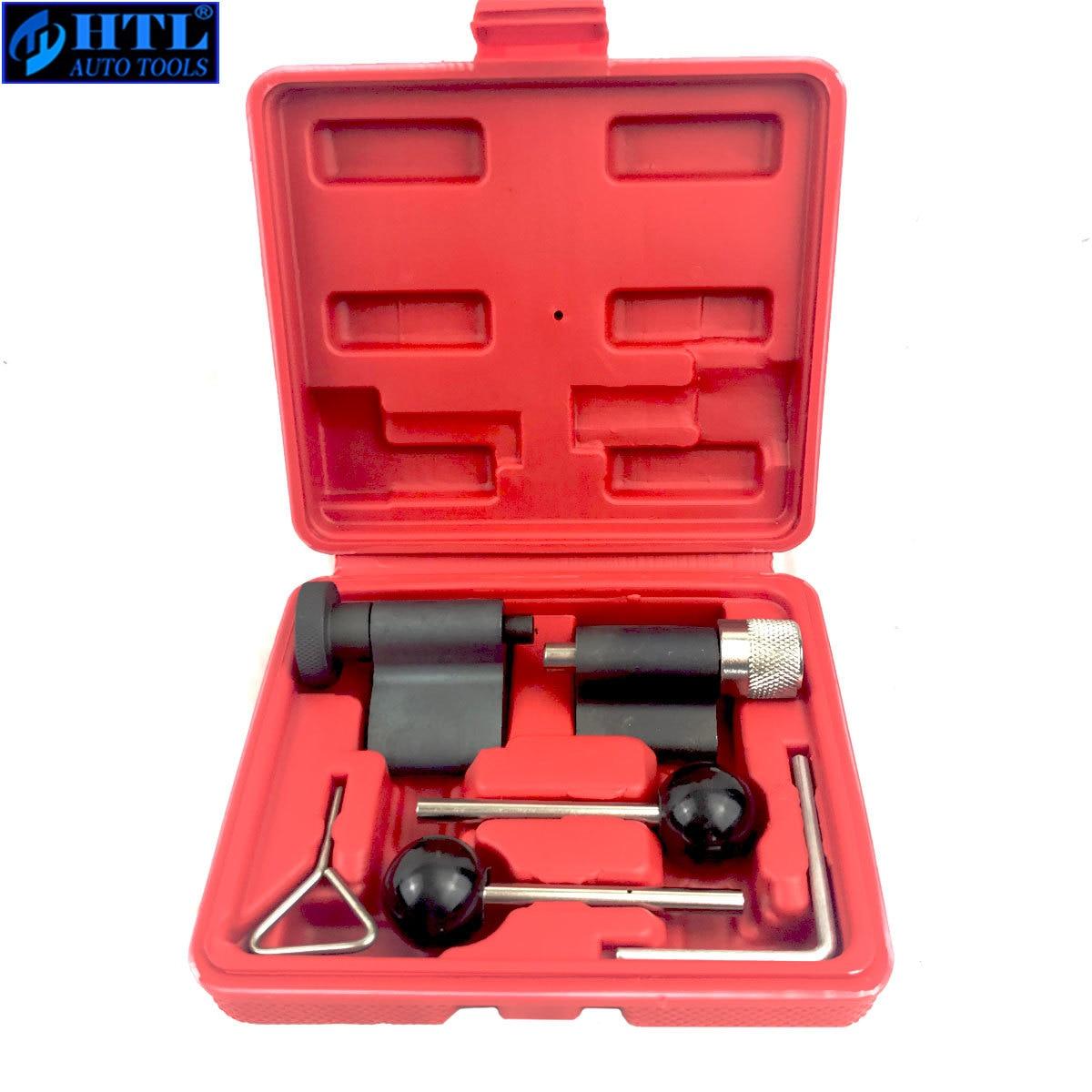 6pc universal motor diesel sincronismo cam manivela bloqueio conjunto de ferramentas para vw audi t10050 t10100