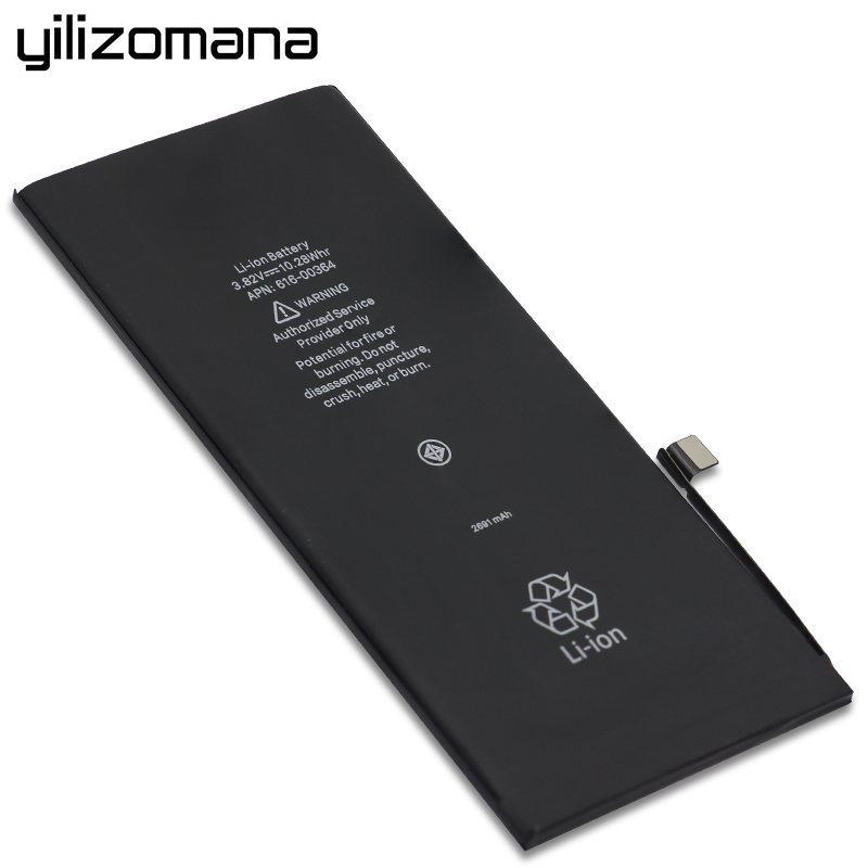 YILOZOMANA For iPhone 8 Plus Original Capacity Phone Battery 2691mAh Replacement Batteries Free Tools Retail Package in Mobile Phone Batteries from Cellphones Telecommunications