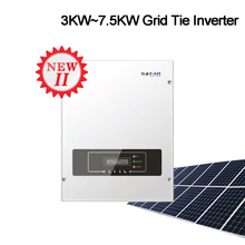 3KW 4KW 5KW 6KW Солнечный grid-Tie инвертор строки 2nd двойной со слежением за максимальной точкой мощности, с поддержкой Wi-Fi на солнечной батареи для Мощность инвертор