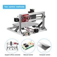 CNC3018 ER11 Diy Máquina de Gravura do Cnc Pcb Fresadora Cnc router Carving máquina 3018 Controle GRBL Ferramenta DIY