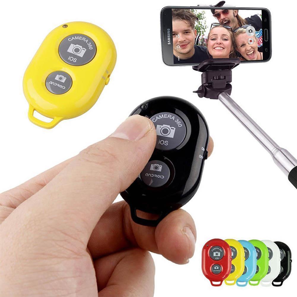 Wireless Bluetooth Camera Remote Control Selfie Shutter Shutter Release Button Controller For Mobile Phone Monopod