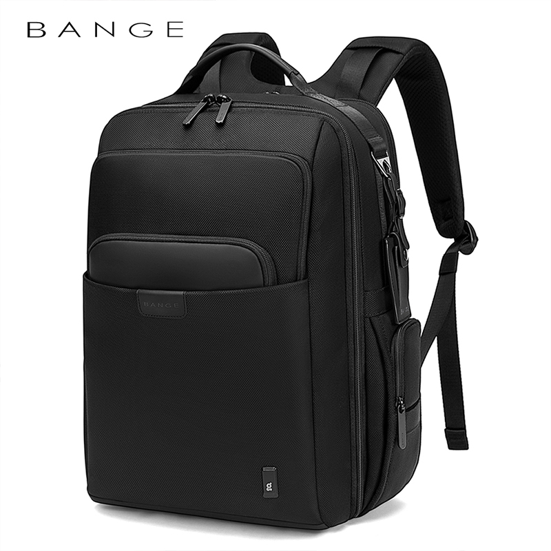 Bange Men Backpack Multifunctional Waterproof 15.6inch Laptop Multi-layer Pockets Bag Casual School Backpack for Unisex