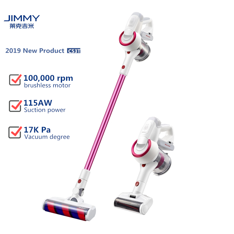 EU/RU in stock Xiaomi LEXY JIMMY JV51 JV53 Wireless Cordless  Handheld Vacuum Cleaner Remove mites Strong Suction and Low Noise|Vacuum Cleaners| |  - title=