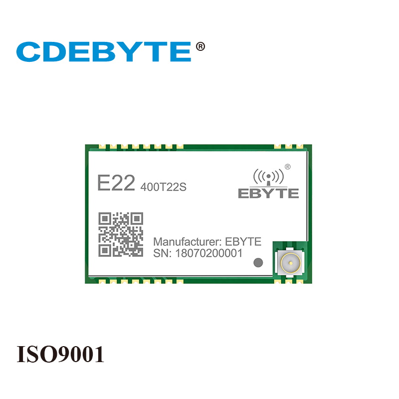 Ebyte E22-400T22S SX1268 UART New LoRa 433MHz 22dBm SMD IoT Wireless Transceiver Module
