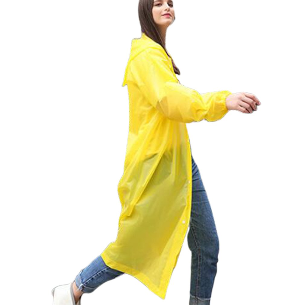 New Fashion Disposable Raincoat Thick Drifting Raincoat Travel One-Piece Raincoat Environmentally Friendly Material Pe Pullover