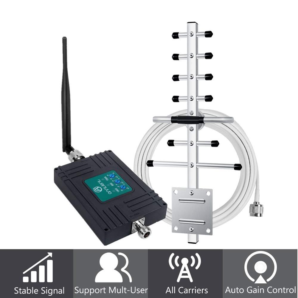 ANNTLENT AT&T T-Mobile 4G LTE Cell Phone Signal Booster 700/850/1900MHz  Amplifier For Calls 4G Data Band 2/5/12/17 Home Repeate